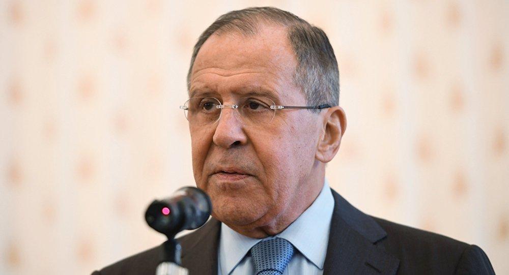 Sergueï Lavrov, ministre russe des Affaires étrangères