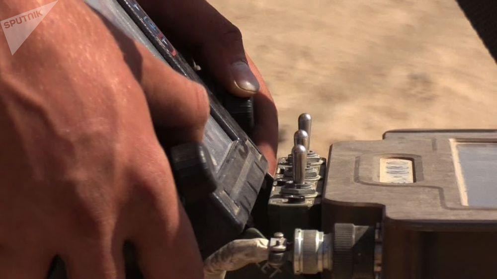 Opération de déminage à Deir ez-Zor
