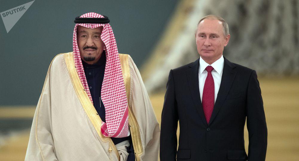 Le roi Salmane ben Abdelaziz Al Saoud en Russie, 2017