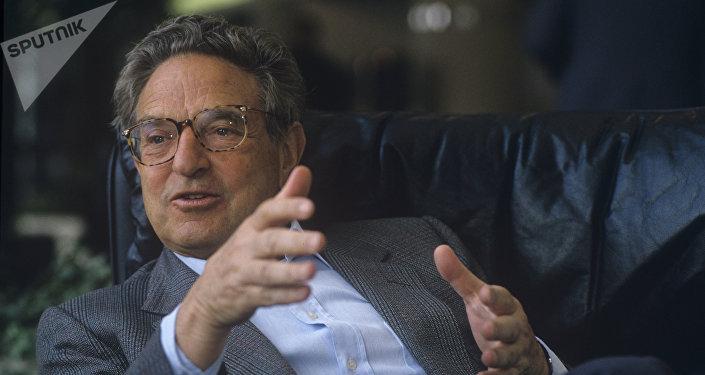 Le milliardaire américain George Soros