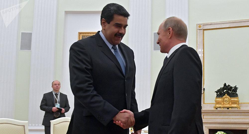 Le président vénézuélien Nicolas Maduro est arrivé en visite officielle en Russie