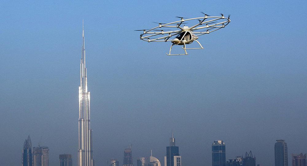 Taxi volant autonome à Dubaï