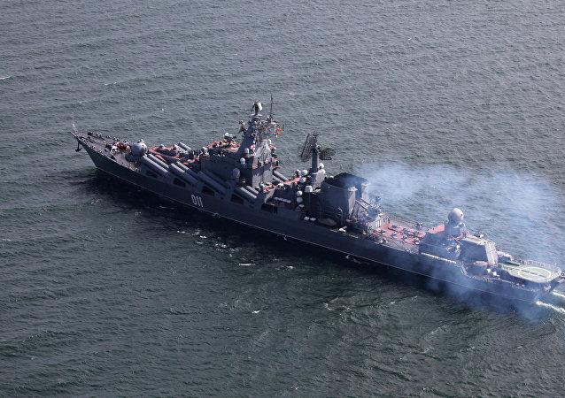 Le croiseur lance-missile russe Varyag