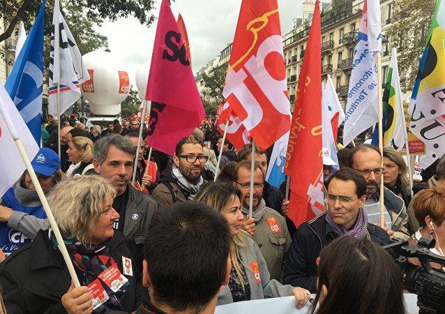 les centrales syndicales affichent un front commun face à la réforme du Code du travail