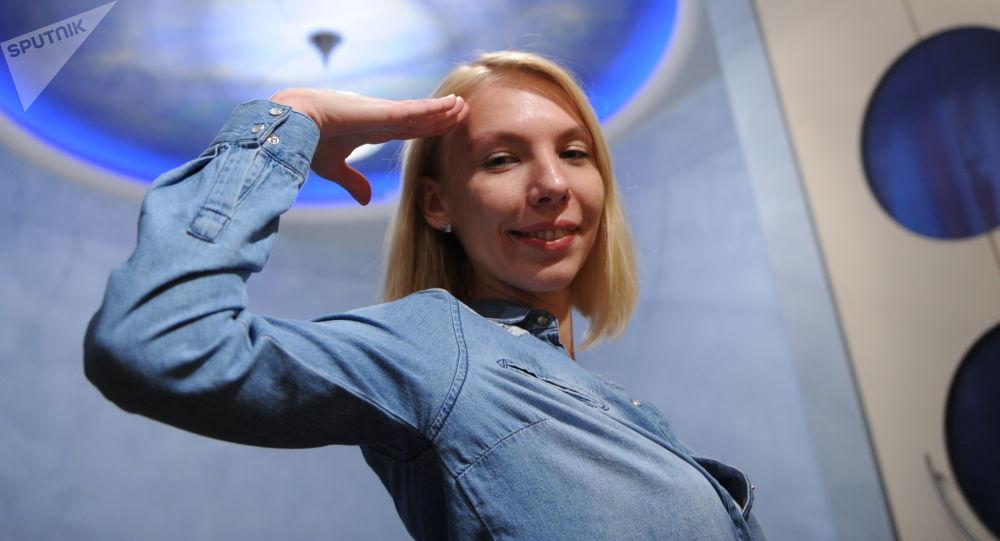 Anastassia Stepanova, l'une des demi-finalistes
