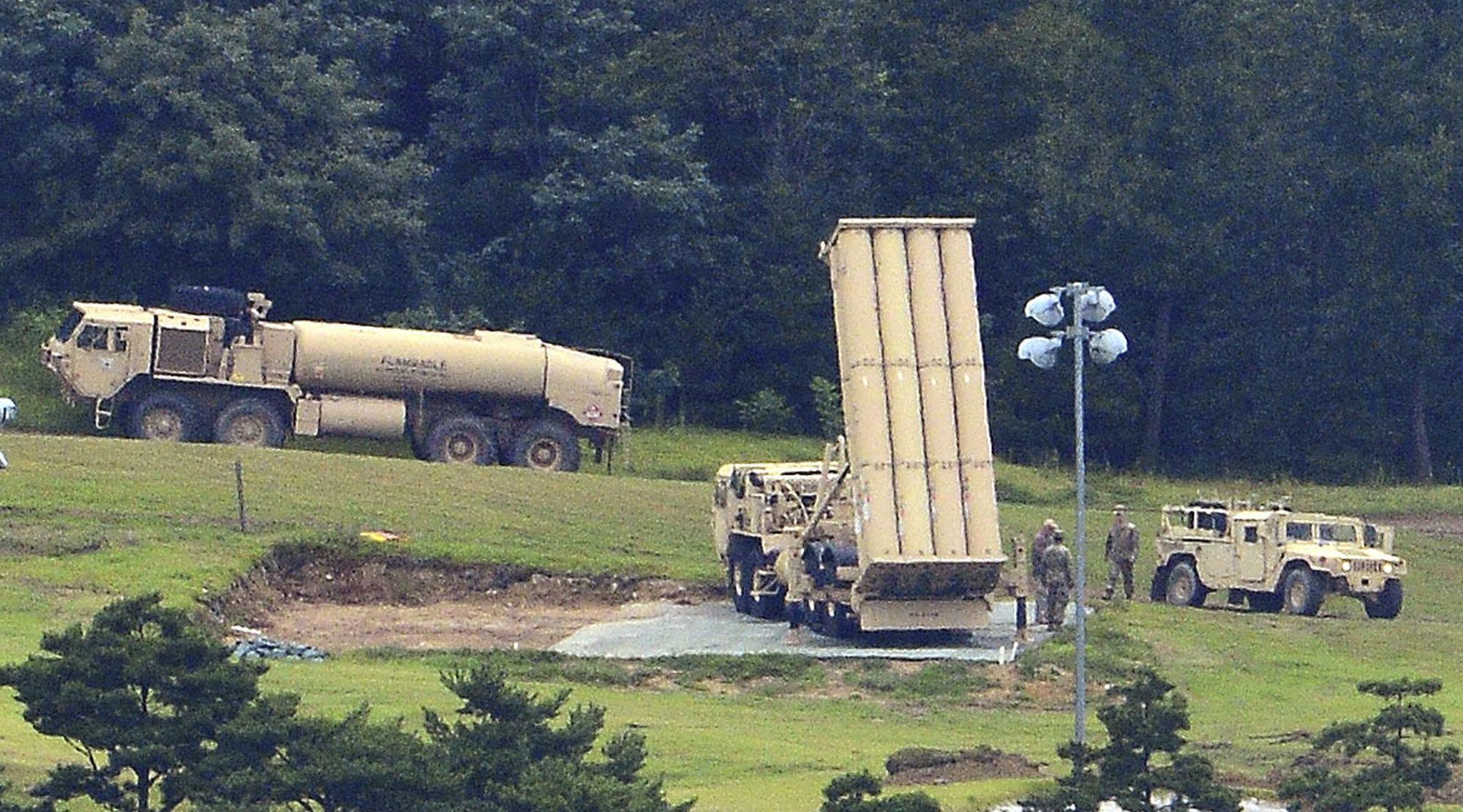 Le système de missiles antibalistiques américain THAAD