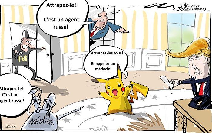 Quand la Main du Kremlin manipule Pikachu pour interférer dans la présidentielle US