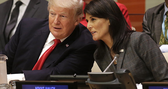 Donald Trump et Nikki Haley