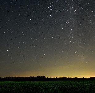 Une pluie d'étoiles filantes