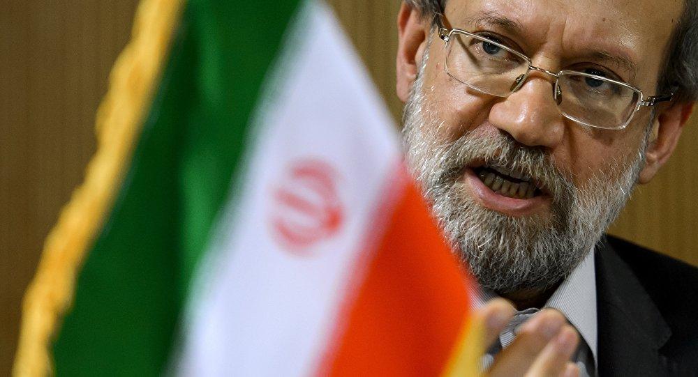 Le speakeur du Parlement iranien Ali Larijani. Archive