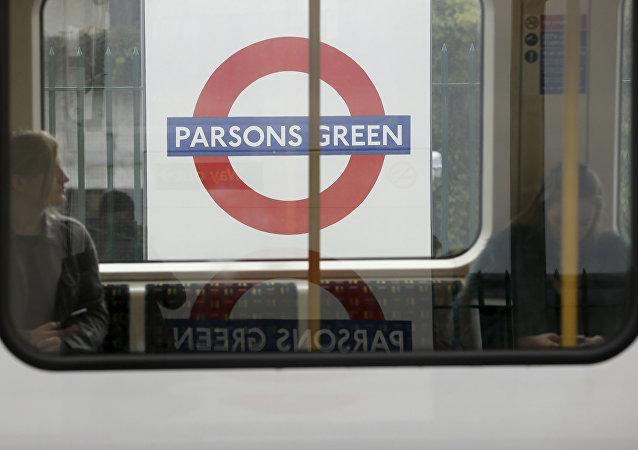La station de métro londonien Parsons Green