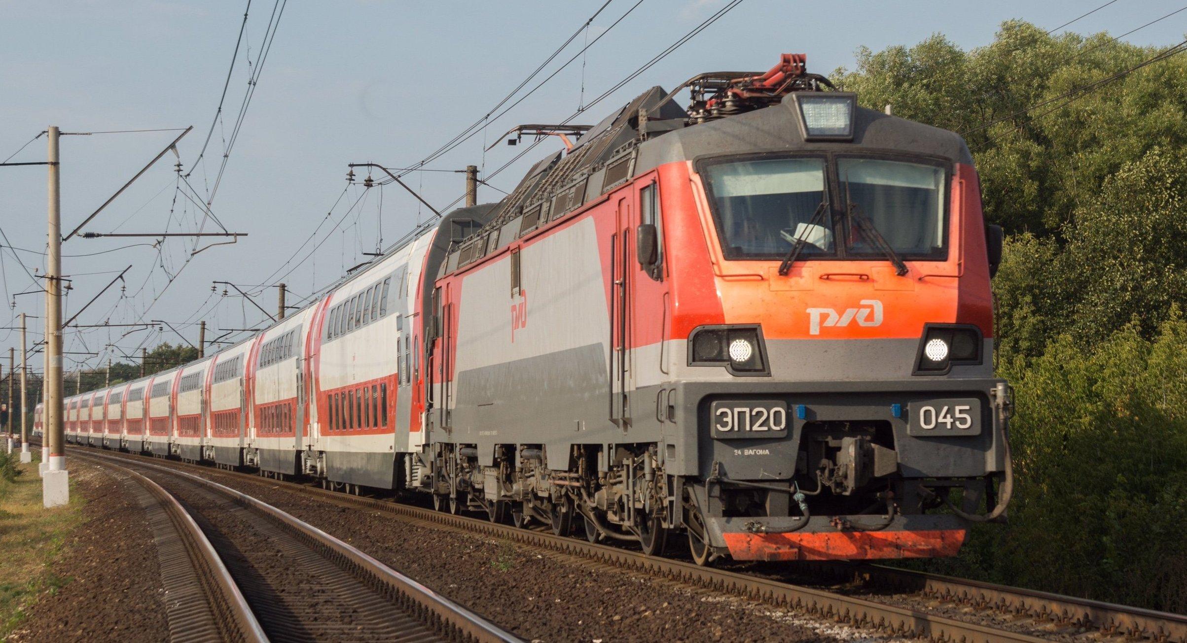 Locomotive de nouvelle génération EP20