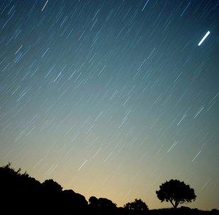 Une «pluie de météorites»