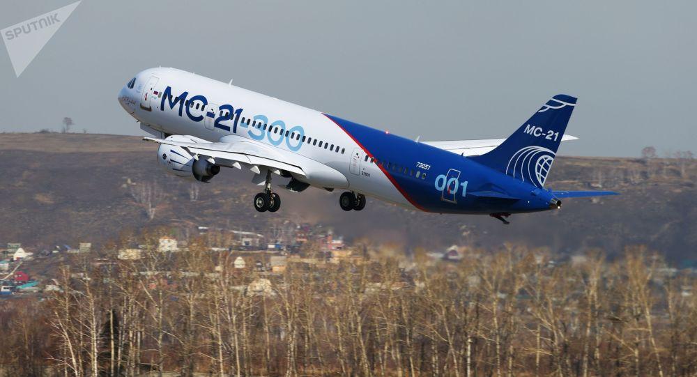 L'avion russe MS-21-300