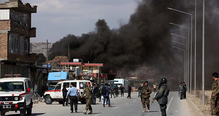 Un attentat à Kabul