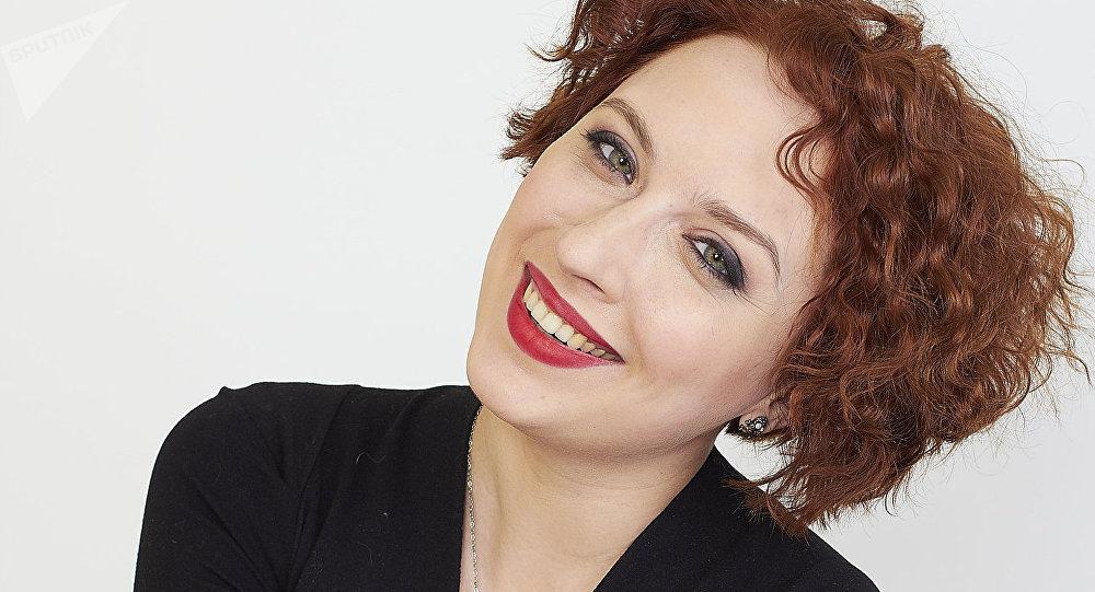 La journaliste de la radio russe Écho de Moscou, Tatiana Felguengaouer