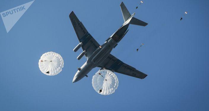 Il-76, assaut aéroporté