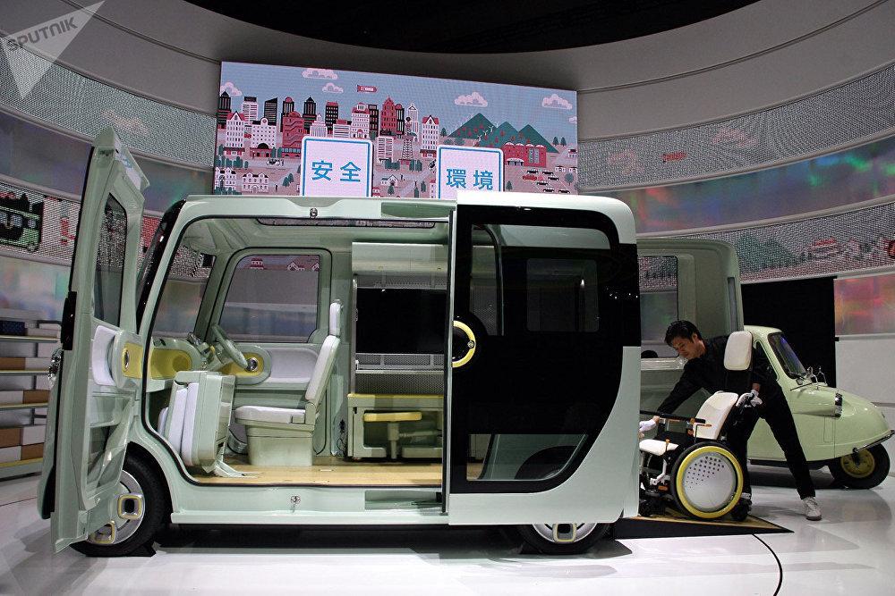 des miracles de l industrie automobile au salon tokyo motor show 2017 sputnik france. Black Bedroom Furniture Sets. Home Design Ideas