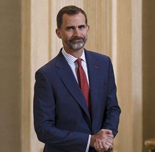 Le roi d'Espagne Felipe VI