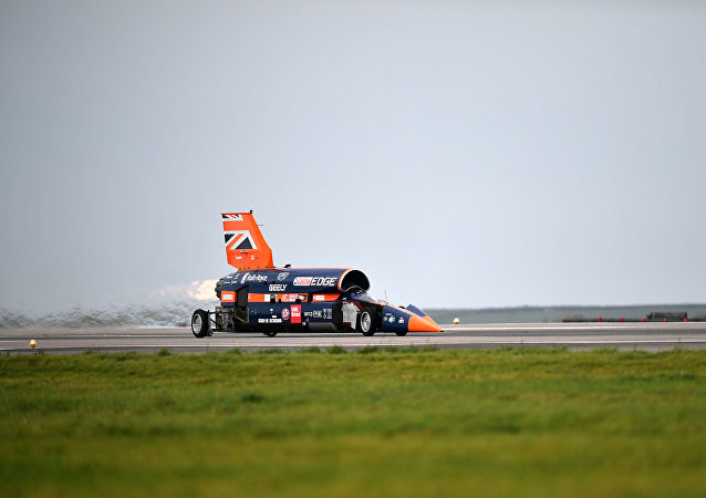 Bloodhound Supersonic Car