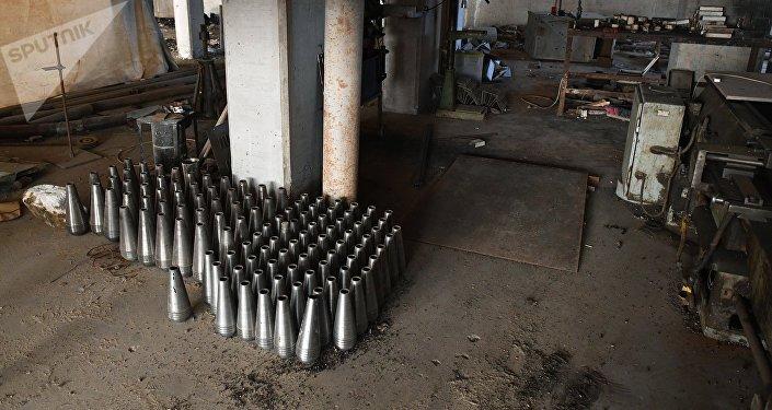 Des armes chimiques / image d'illustration