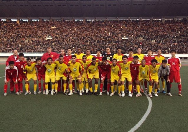 Le club de football «Atlético de Sorocaba» a disputé quatre matchs au stade de Pyongyang