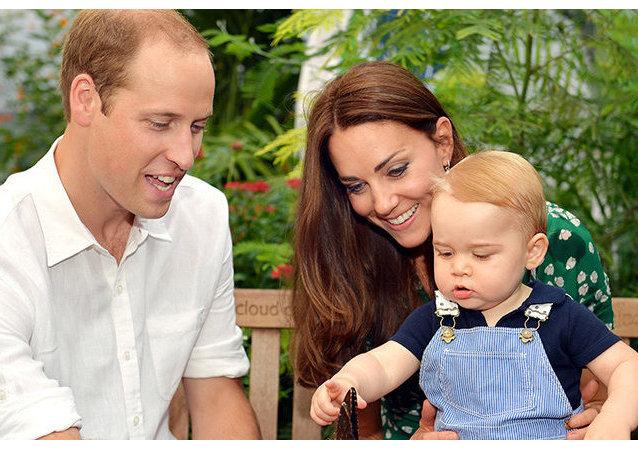 Le prince George fête son premier anniversaire