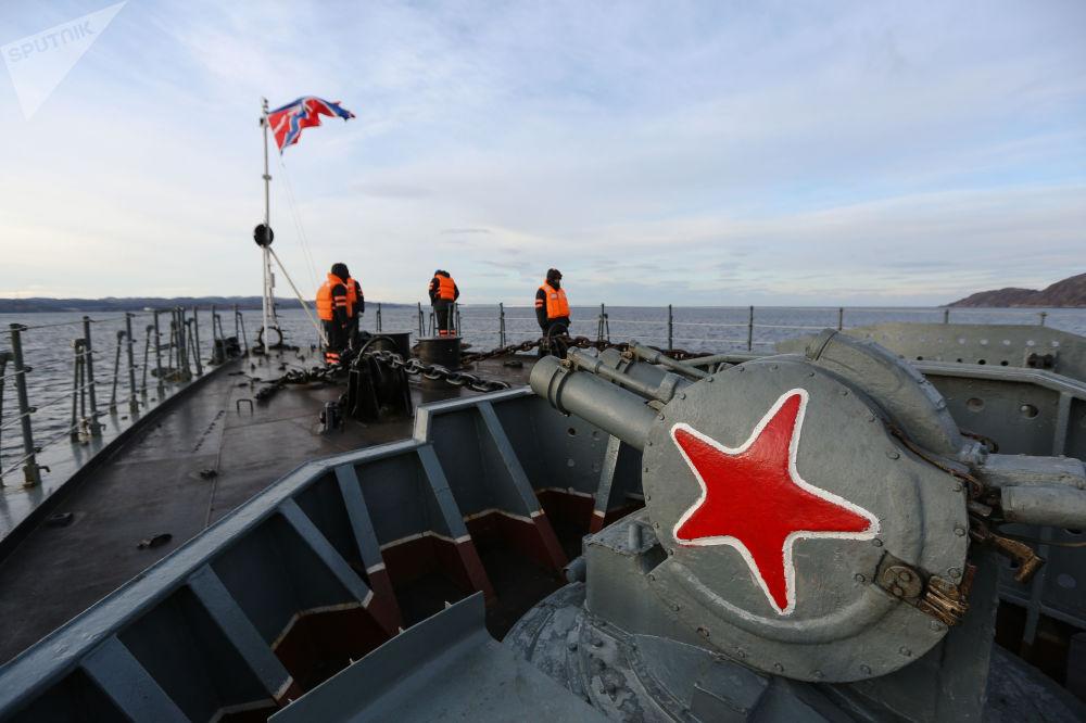 La Marine militaire russe dans le golfe de Kola
