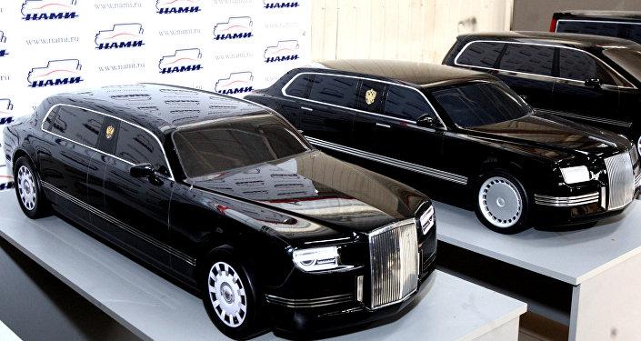 Modèles des limousines du projet Kortezh (Cortège)
