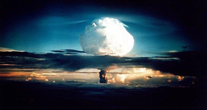 Explosion nucléaire / image d'illustration