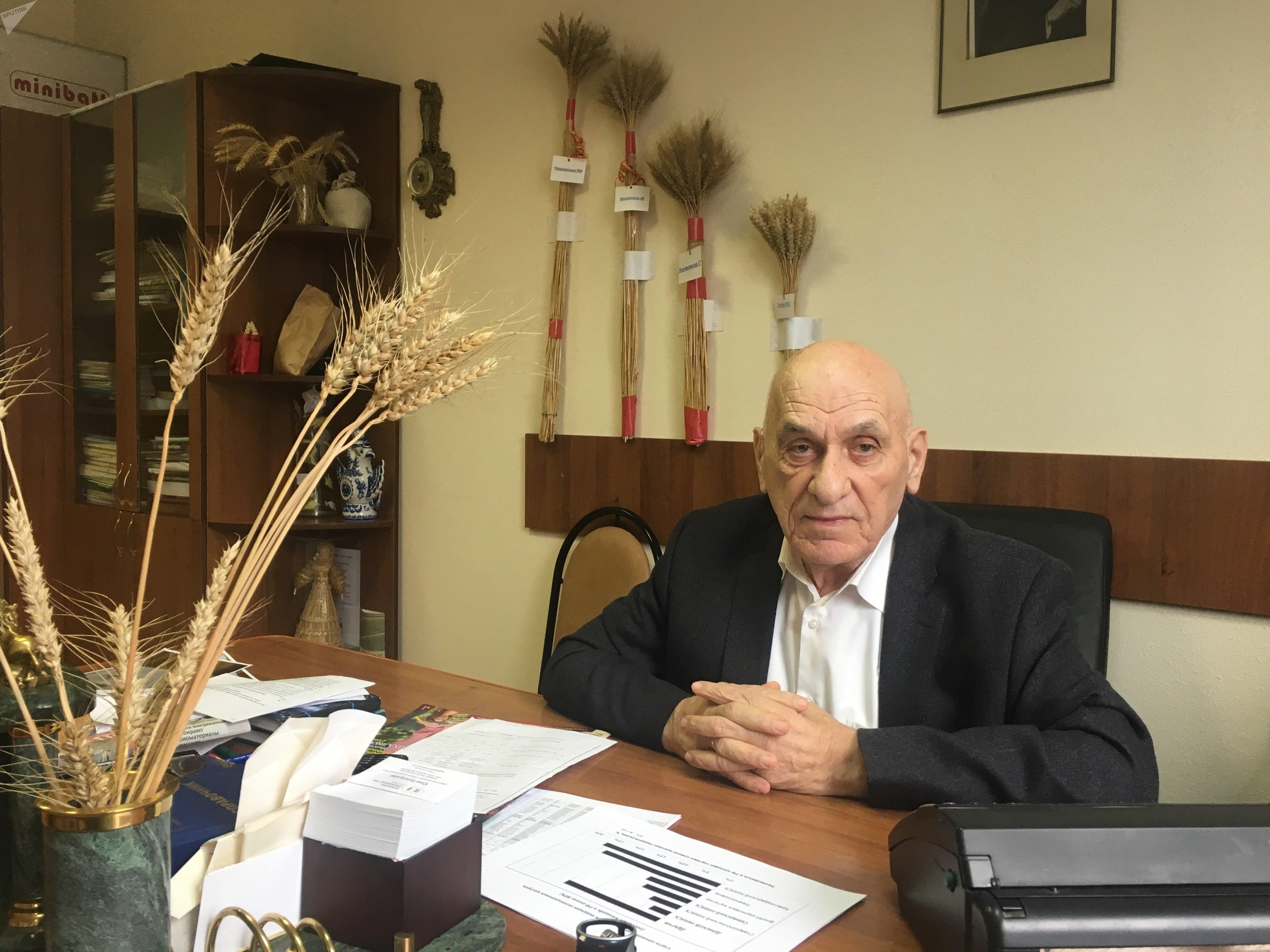 Le sélectionneur Bagrat Sandoukhadze