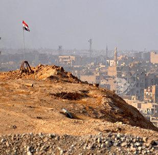La ville de Deir ez-Zor lors de l'opération de libération lancée par l'armée syrienne