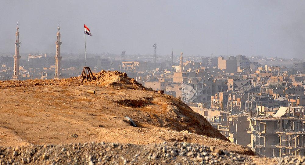 La ville de Deir ez-Zor