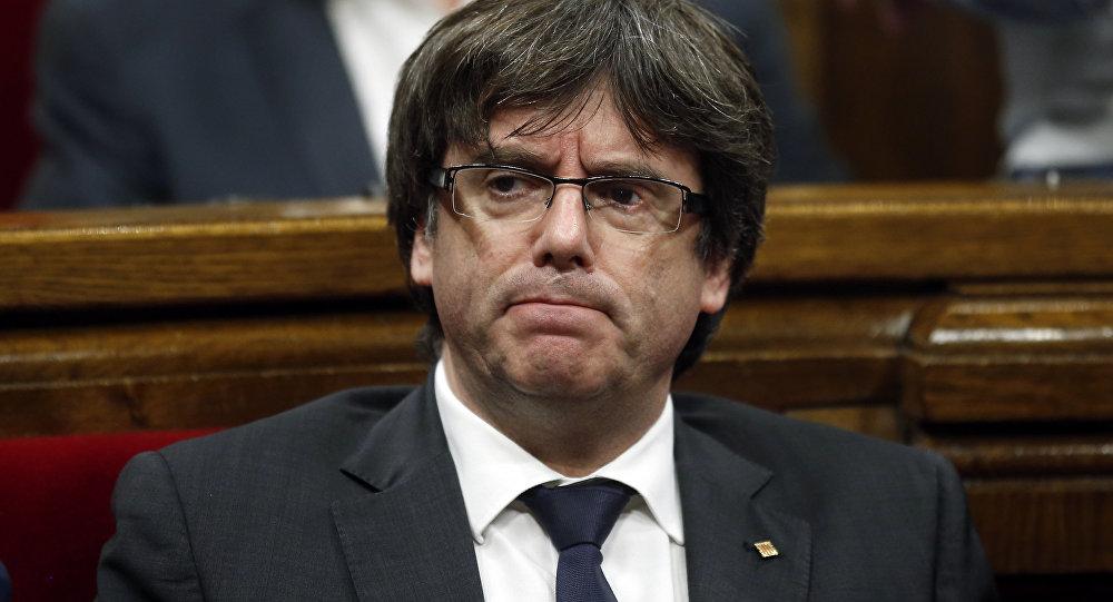 Puigdemont placé en garde à vue par la police belge