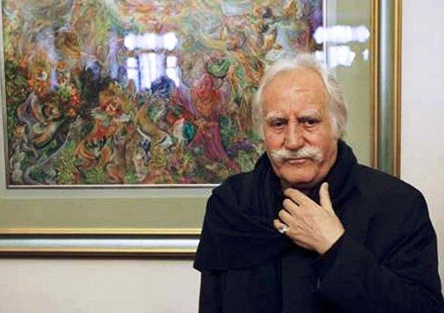 Mahmoud Farshchian, grand maître de la miniature persane