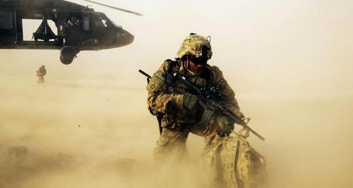 les soldats Américains