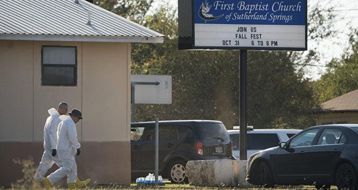 La Baptist church in Sutherland Springs, Texas