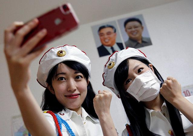 Un fan club de la Corée du Nord à Tokyo