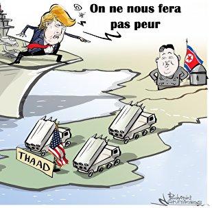 «On ne nous fera pas peur»: Trump appelle à davantage d'isolement de la Corée du Nord