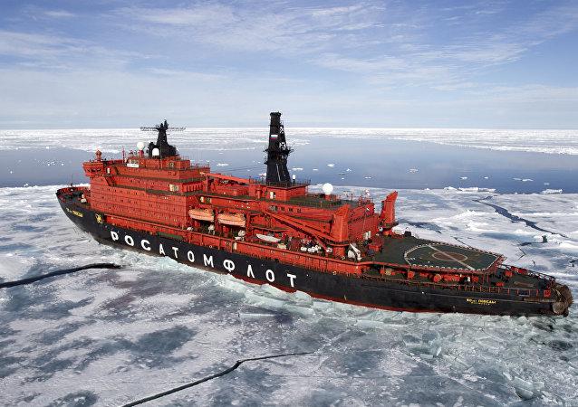 le brise-glace russe
