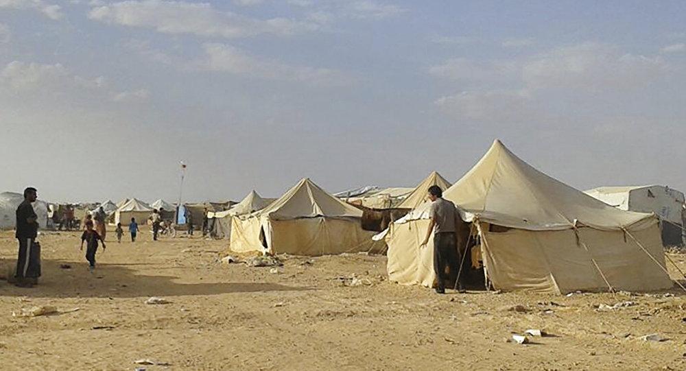 Le camp d'Al-Roukban