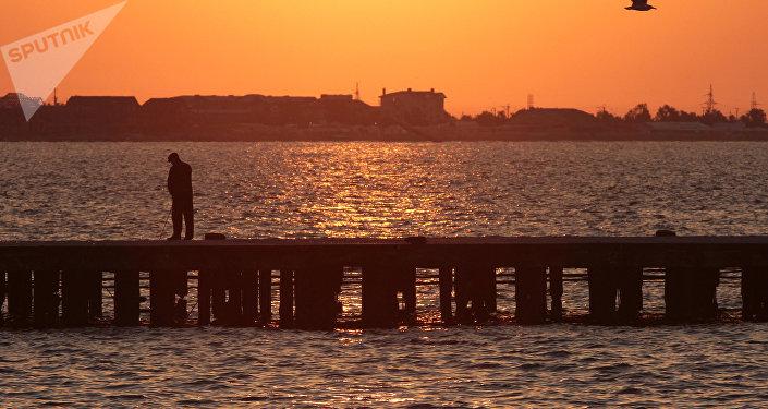 La baie d'Eupatoria, en Crimée