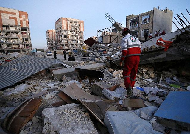 Conséquences du séisme en Iran