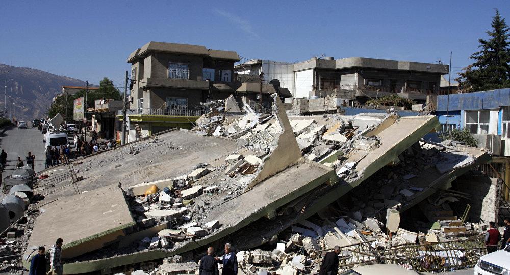 Conséquences du séisme en Irak et en Iran