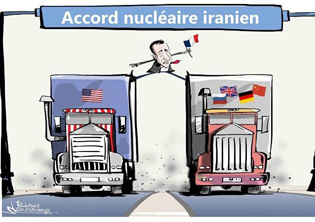 Macron s'est déclaré très préoccupé par le programme de missiles balistiques de l'Iran