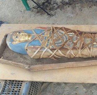 Une nouvelle momie découverte par des archéologues russes en Égypte
