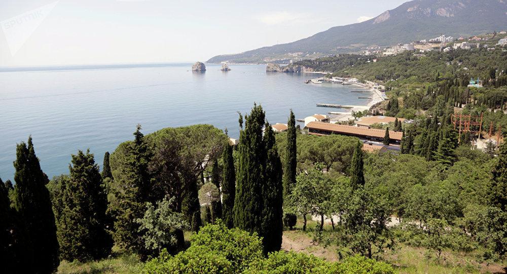 Сamp de vacances d'Artek en Crimée