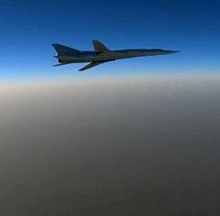 Un bombardier supersonique Tu-22M3 (Photo d'archives)