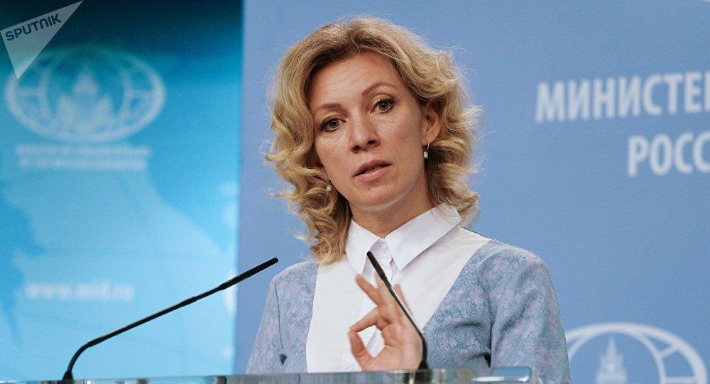 La porte-parole du ministère des Affaires étrangères Maria Zakharova