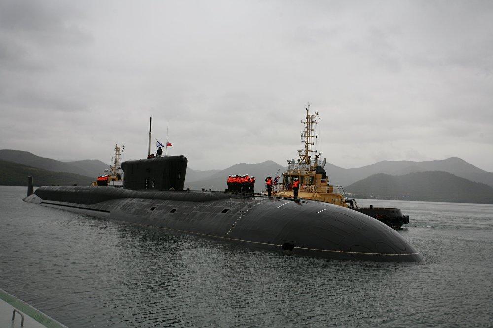 Le sous-marin «Alexandre Nevski» du projet 955 «Boreï»